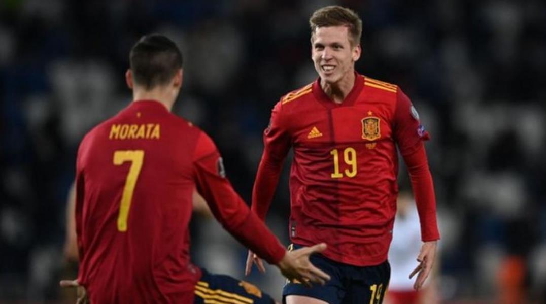 西班牙在加时赛中的一球使他们击败了格利吉亚