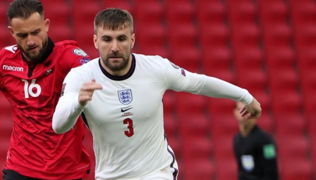 曼联后卫卢克.肖说他将专注于在英格兰未来