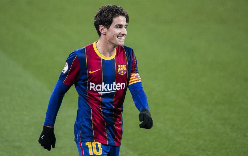 阿莱克斯•科拉多签订了新的巴塞罗那合同