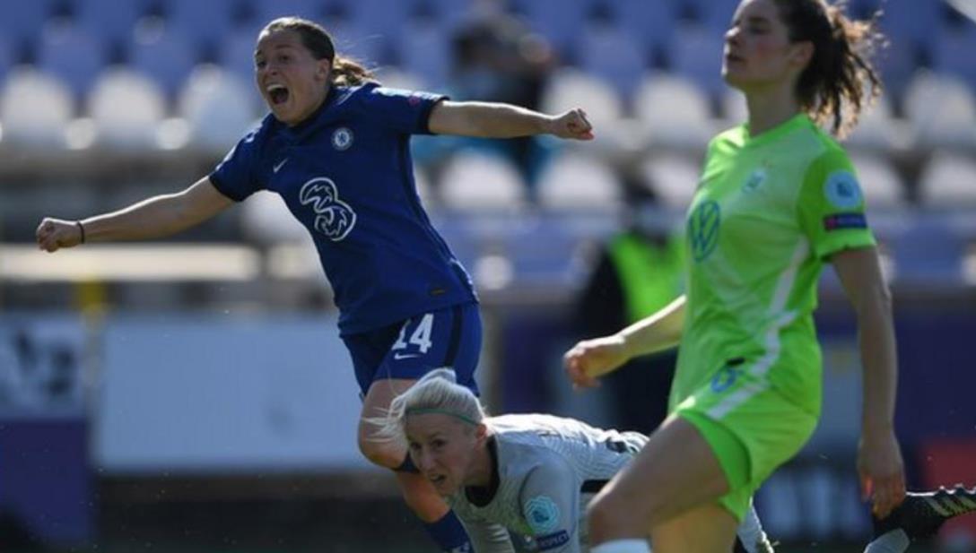 切尔西女子队进入到了欧洲冠军联赛半决赛