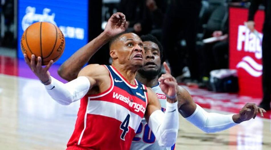 华盛顿奇才以91-120输给了底特律活塞