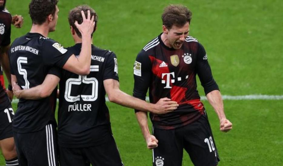 拜仁慕尼黑继续将他们在榜上第一的领先优势扩大到了8分