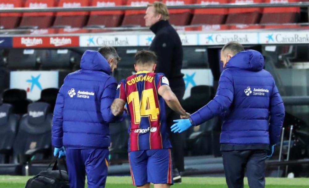 菲利佩~库蒂尼奥进行了膝盖手术