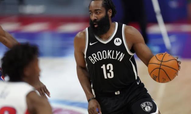 詹姆斯·哈登因腿伤缺席对阵纽约尼克斯的比赛