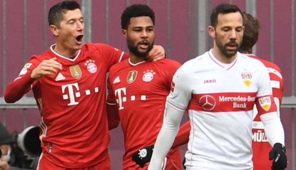 拜仁边锋塞尔吉·格纳布里可能会错过队伍欧冠八强决赛的首回合