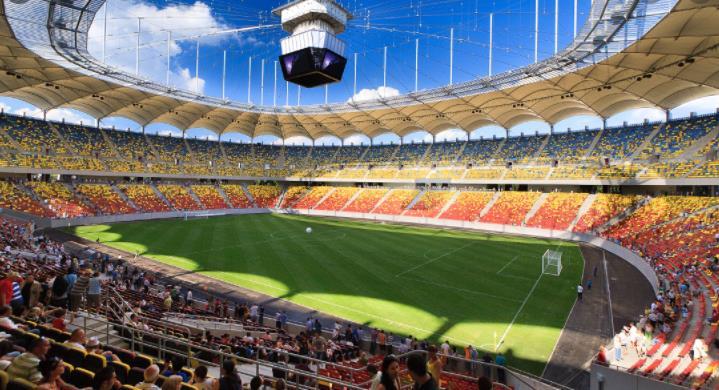 罗马奥林匹克体育场和加勒斯特的国家体育馆将允许到现场观看欧洲杯赛