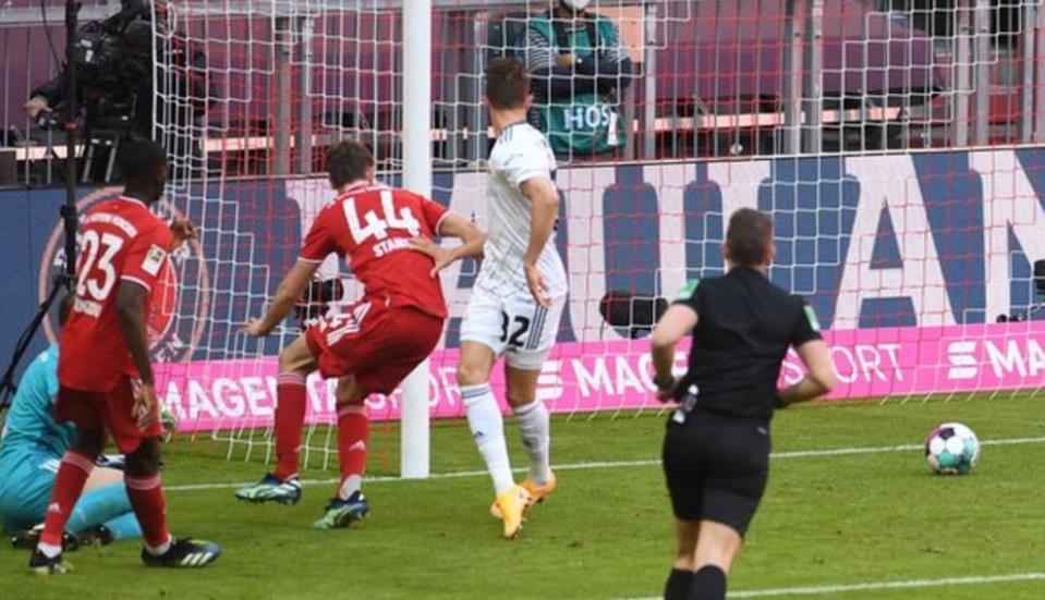 平局使拜仁慕尼黑在榜上第一的领先优势缩小到了5分