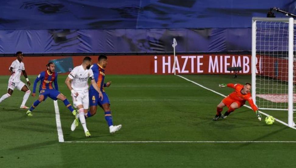 皇家马德里以微弱的优势上升至西甲榜首