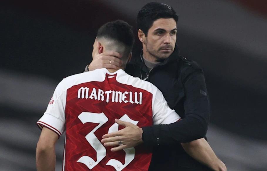 阿特塔不会屈服于球迷的压力去打击加布里埃尔~马丁内利