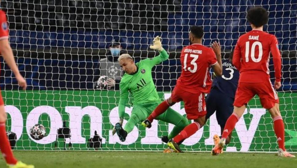 巴黎圣日耳曼队冲进了欧洲冠军联赛的四强