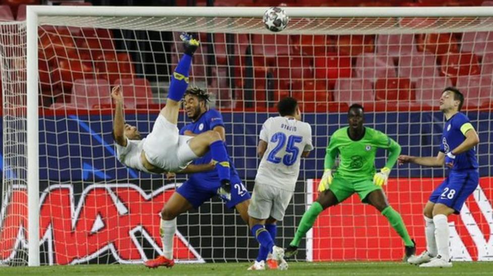 切尔西虽在第二回合被击败了但还是闯进了欧冠联赛的最后四强