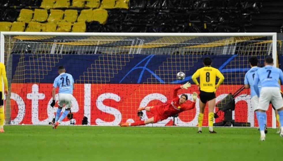 马赫雷与福登使曼城闯进了欧冠联赛四强