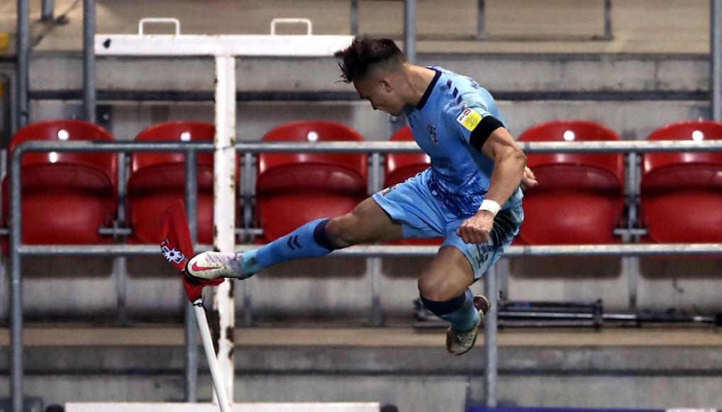 罗瑟勒姆0-1考文垂:里奥~奥斯迪加特赢得重要胜利者