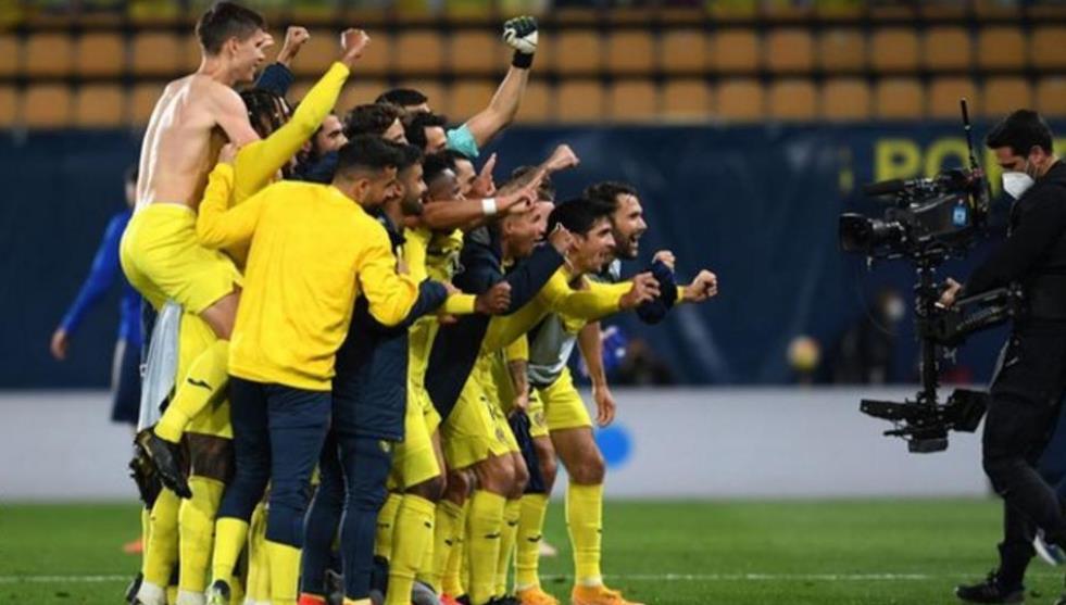 比利亚雷亚尔以3-1的总比分闯进了半决赛