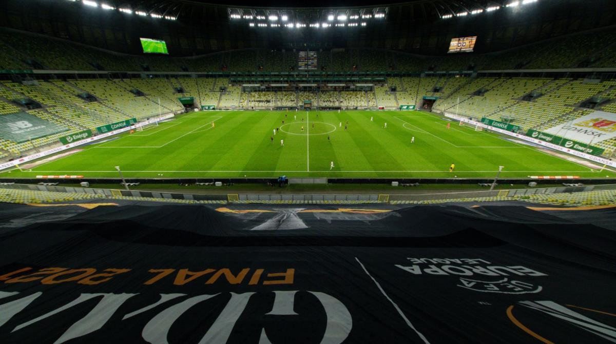 欧足联确认,经过波兰当局的批准,多达9500名球迷可以在格但斯克观看决赛