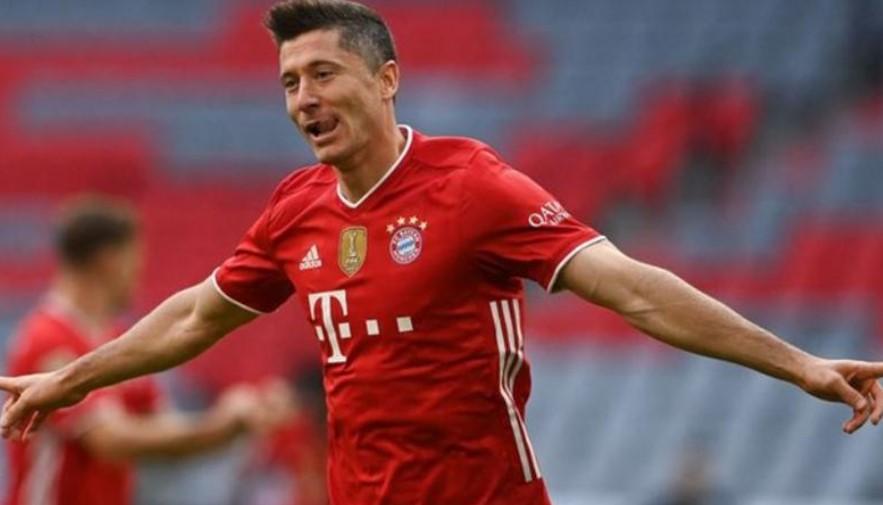 拜仁慕尼黑庆祝自己的第九次德甲联赛冠军