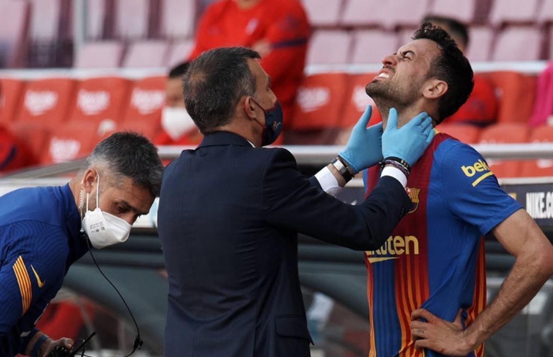 伤病更新:巴塞罗那中场可能会重返莱万特