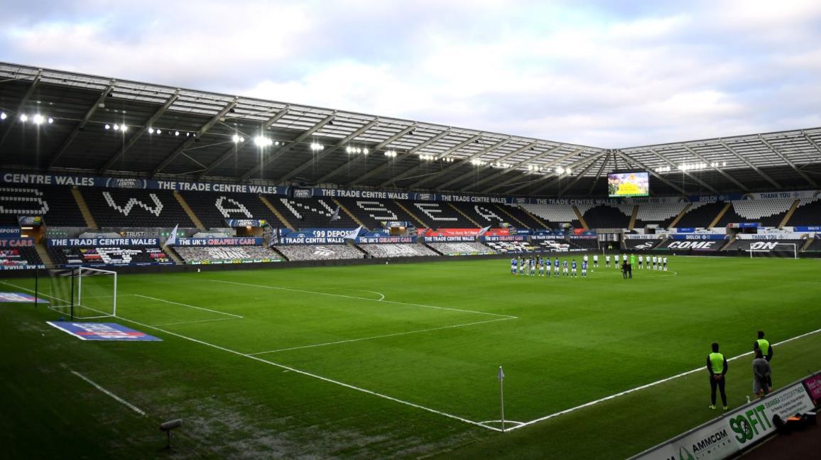 斯旺西市和纽波特郡EFL季后赛联系成为威尔士球迷试验计划的一部分