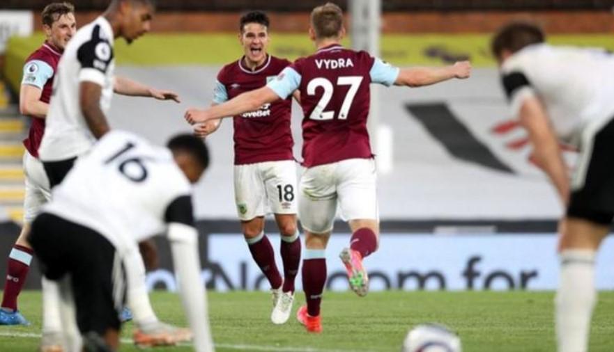 富勒姆降级到了英格兰足球冠军联赛