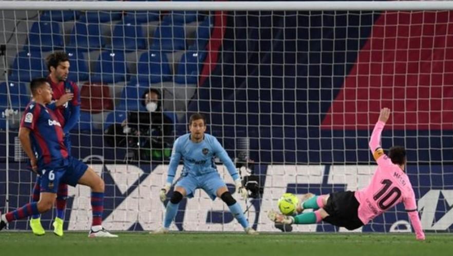 巴萨罗那错过了上升到榜首的机会