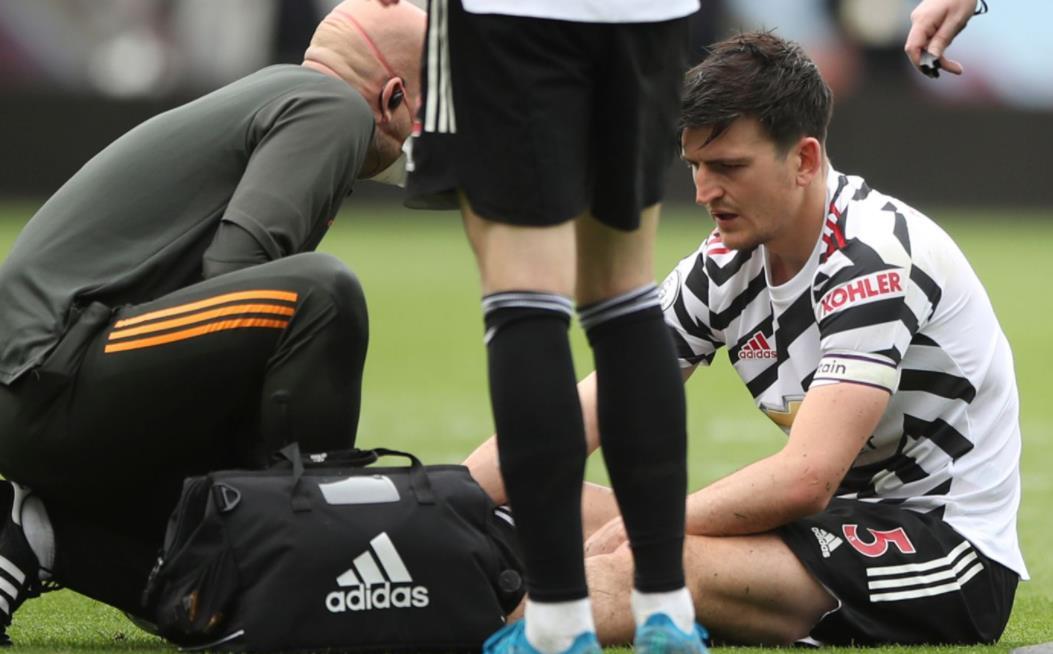 曼联队长遭受脚踝韧带损伤,并面临争夺欧罗巴联赛决赛的比赛