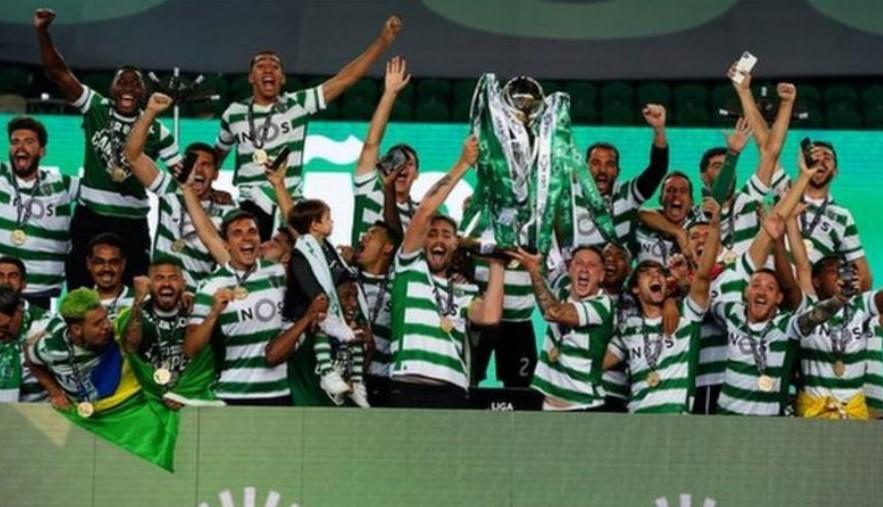 里斯本获得了自2002年来的首个葡萄牙足球超级联赛冠军