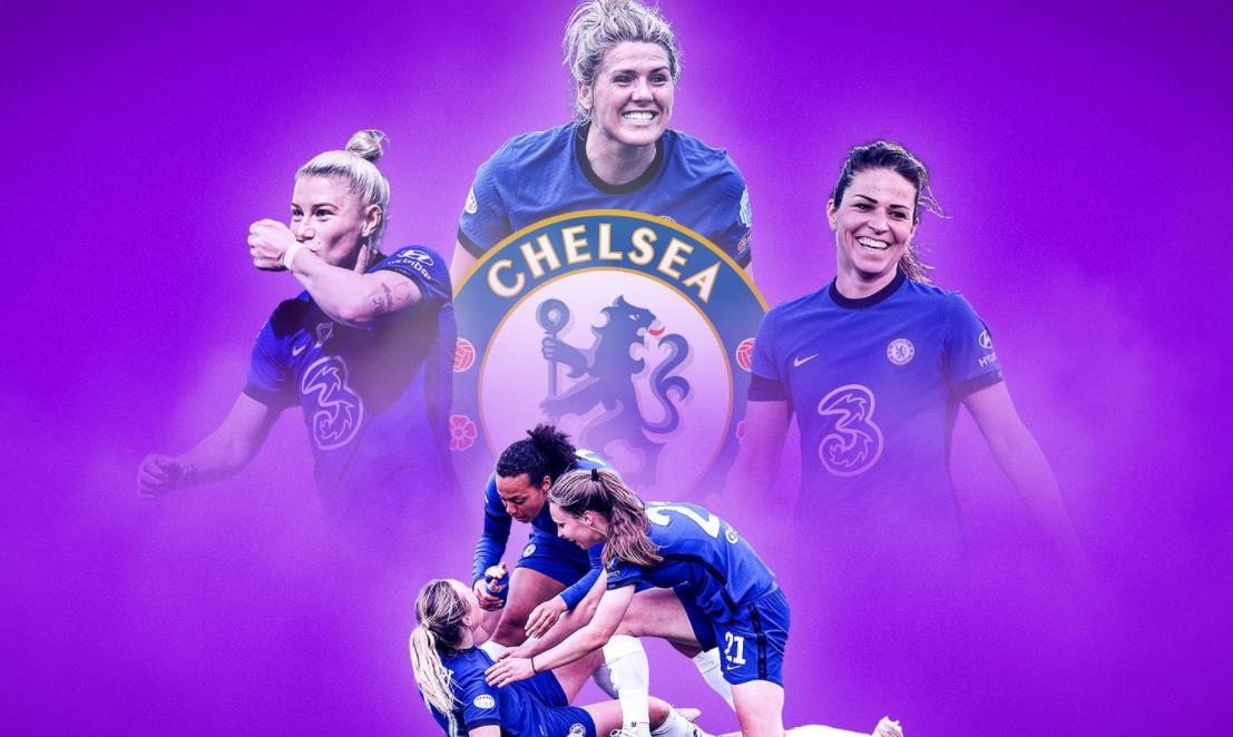 切尔西女队终于实现了自己的女子冠军联赛的最后梦想