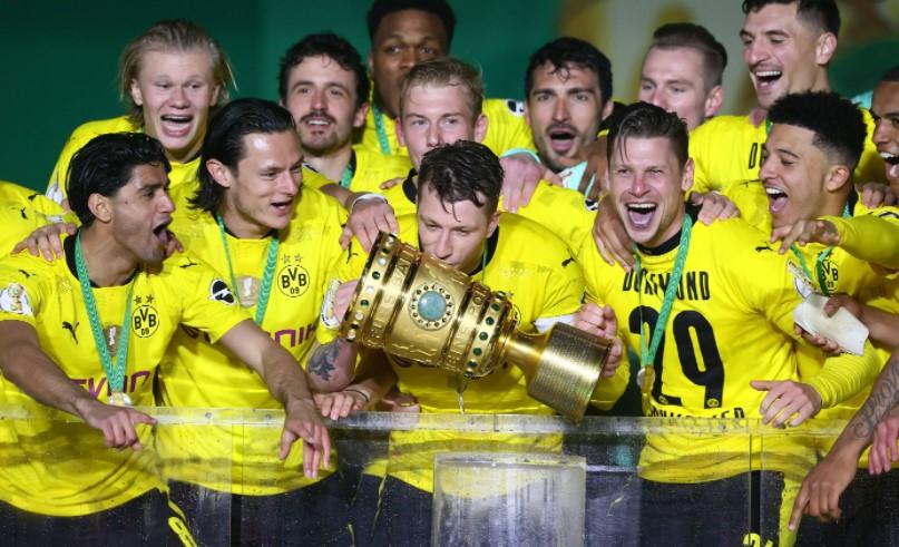 多特蒙德获得了德国足协杯冠军