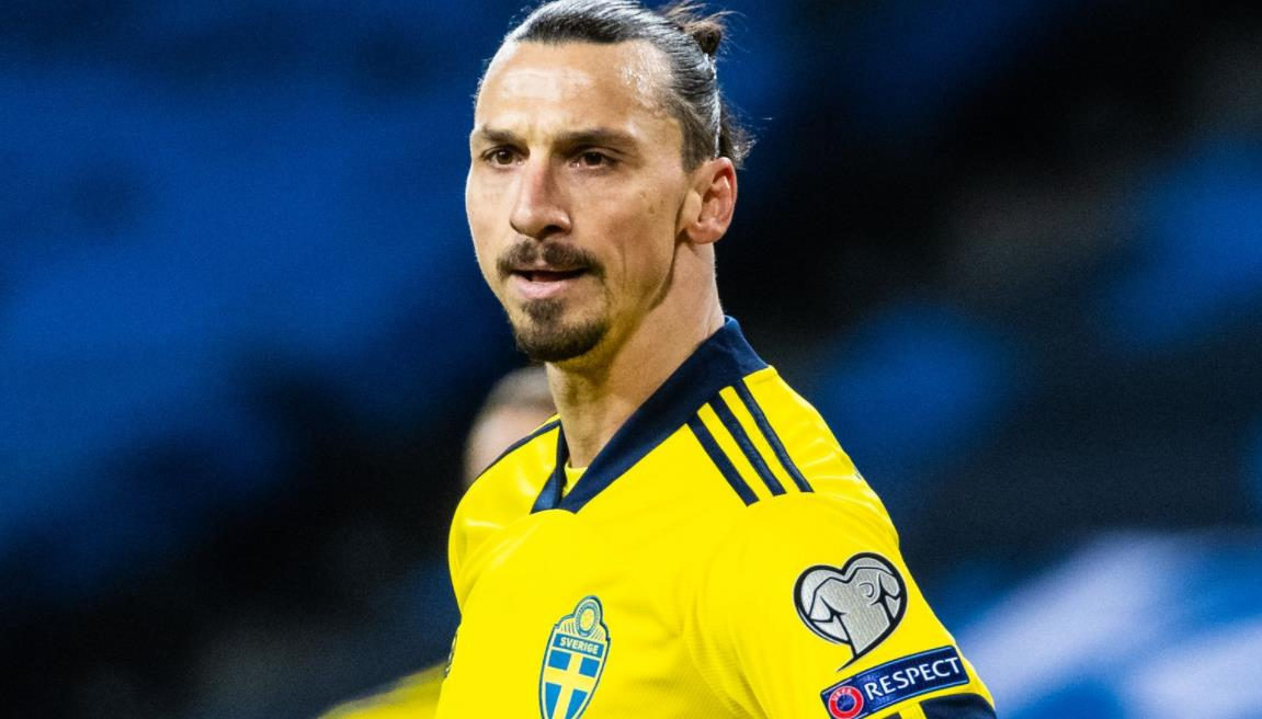 兹拉坦~伊布拉西莫维奇:瑞典前锋因膝伤被迫退出2020年欧洲杯