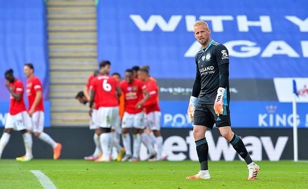 足总杯冠军队长卡斯珀·舒梅切尔表示有着难以掩盖的喜悦