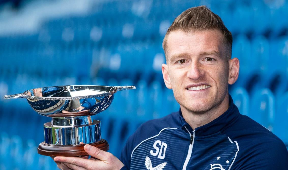 流浪者中场被评为苏格兰足球作家协会年度最佳球员