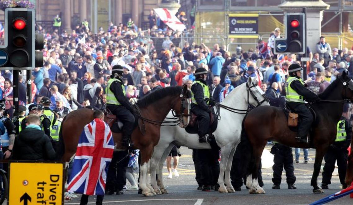 苏格兰警察逮捕了超过20位球迷