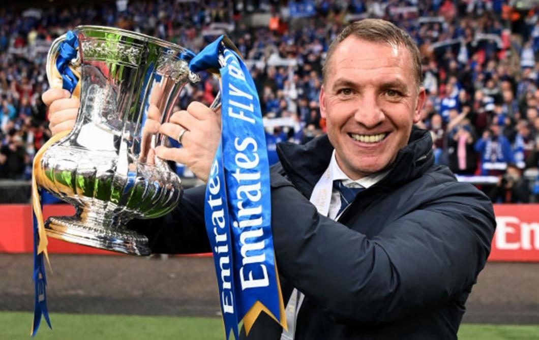 布兰登~罗杰斯欢呼莱斯特的足总杯冠军是俱乐部历史性的一天