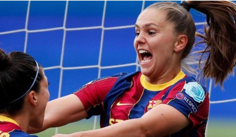 巴萨罗那女子队吸取了上次欧冠联赛决赛的教训