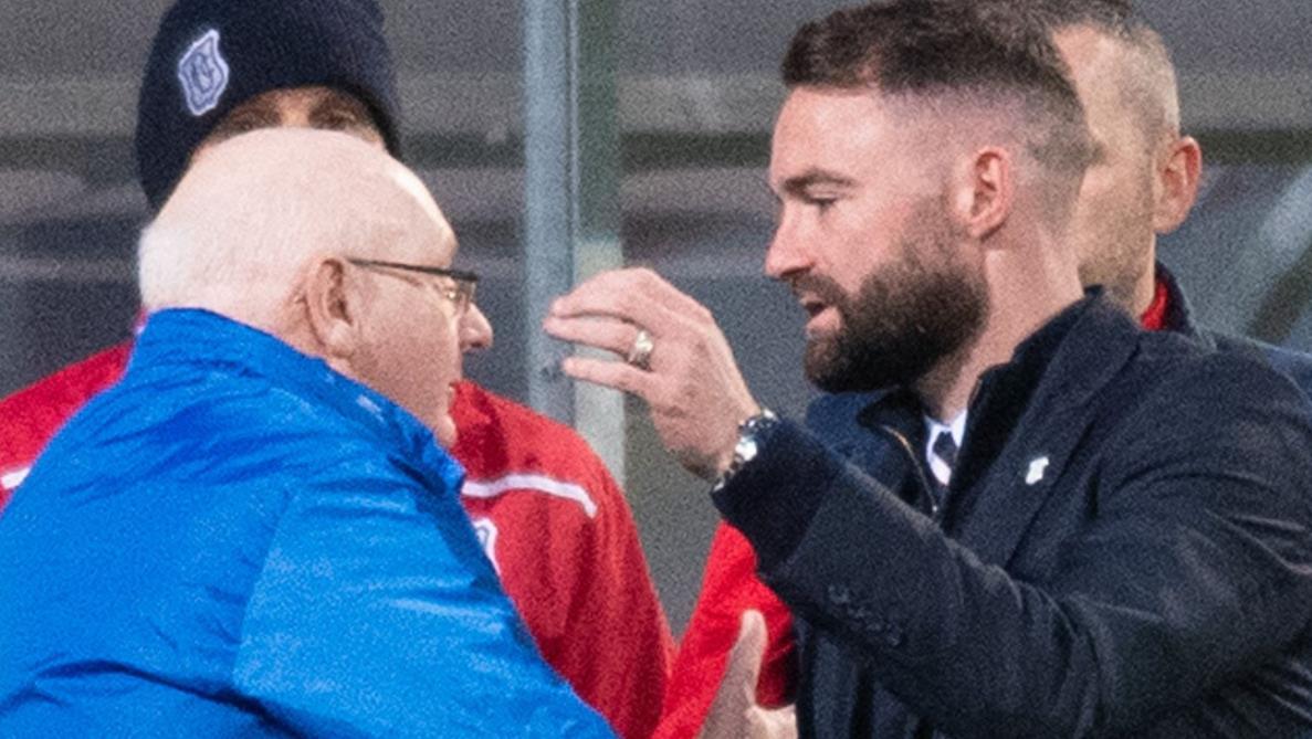 尽管第二回合失利,邓迪还是闯入了苏格兰超级联赛附加赛决赛