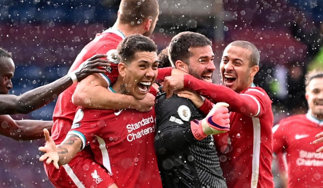 阿里森轰动一时的胜利使利物浦的前四名希望活了下来