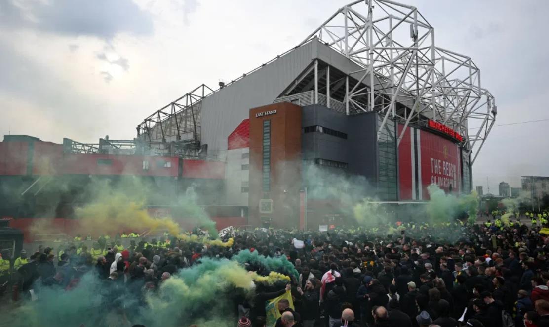 曼联合会最大的球迷团体呼吁抗议者今晚不要攻击自己人