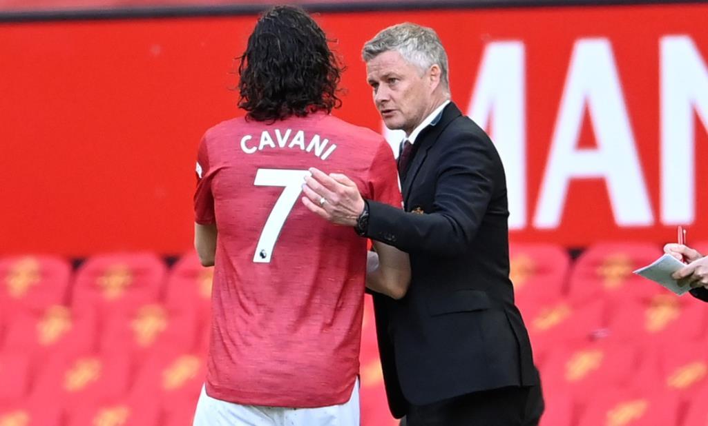 索尔斯克亚表示,尽管埃丁森~卡瓦尼达成交易,曼联仍可能在今年夏天签下一名前锋