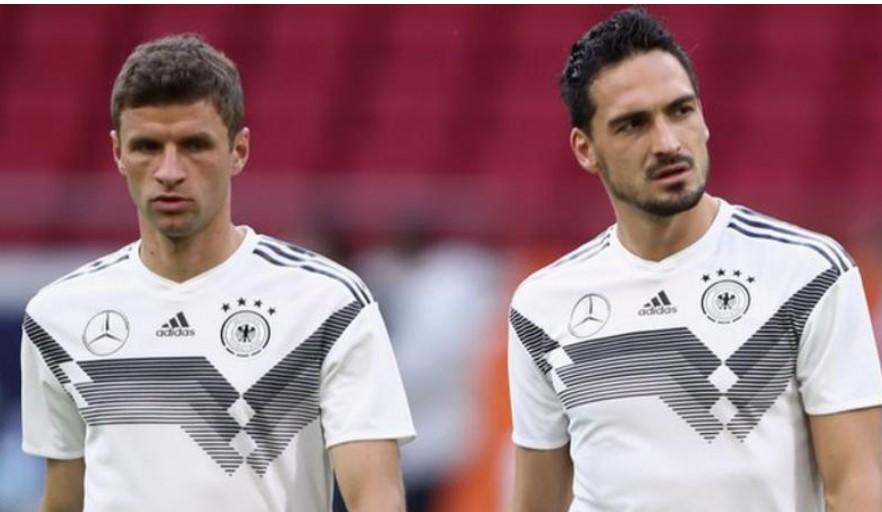 托马斯·穆勒和马茨·胡梅尔斯被德国队经理约阿希姆·洛召回