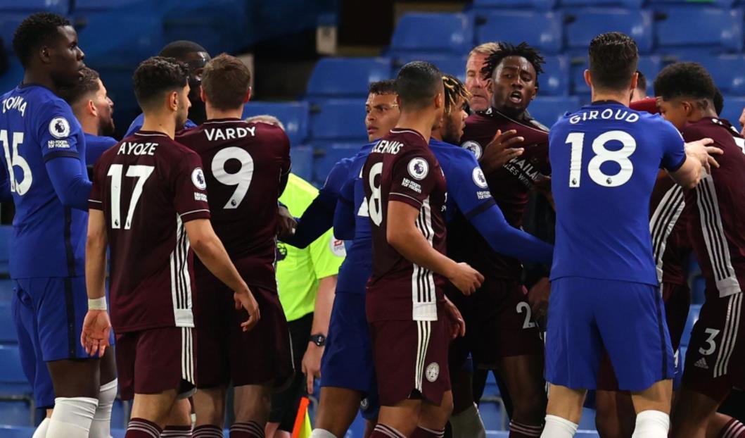 在周二晚上的英超联赛之后,英足总对切尔西和莱斯特进行了罚款
