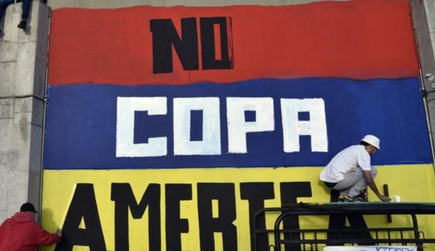 抗议活动频发后,哥伦比亚将不再共同举办美洲杯比赛