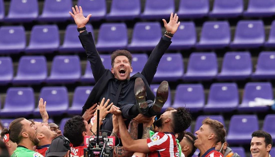 西甲马德里竞技队的成功表明了在逆境中的力量