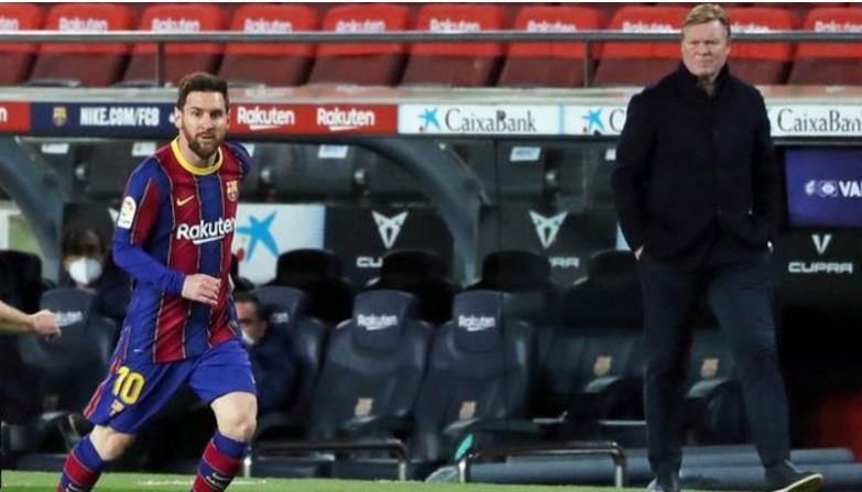梅西与科曼本夏季在巴萨罗那的不确定性