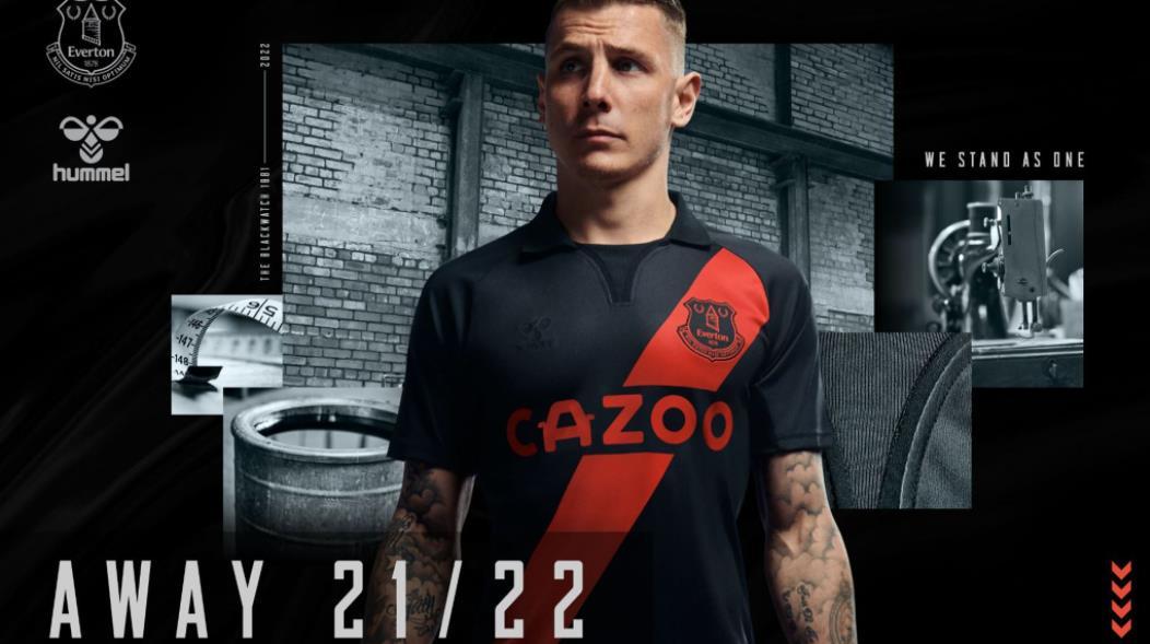 英超联赛球衣2021/22:来自热刺,埃弗顿等球队的新主场和客场设计