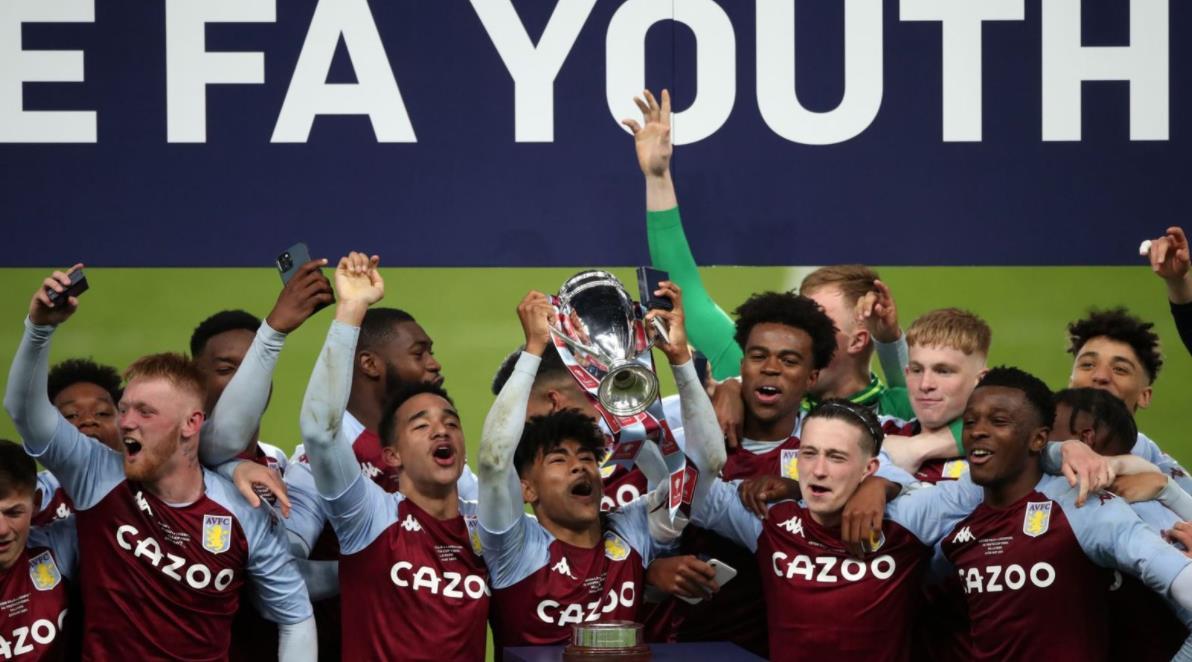 阿斯维拉青少年赢得足总杯青年杯