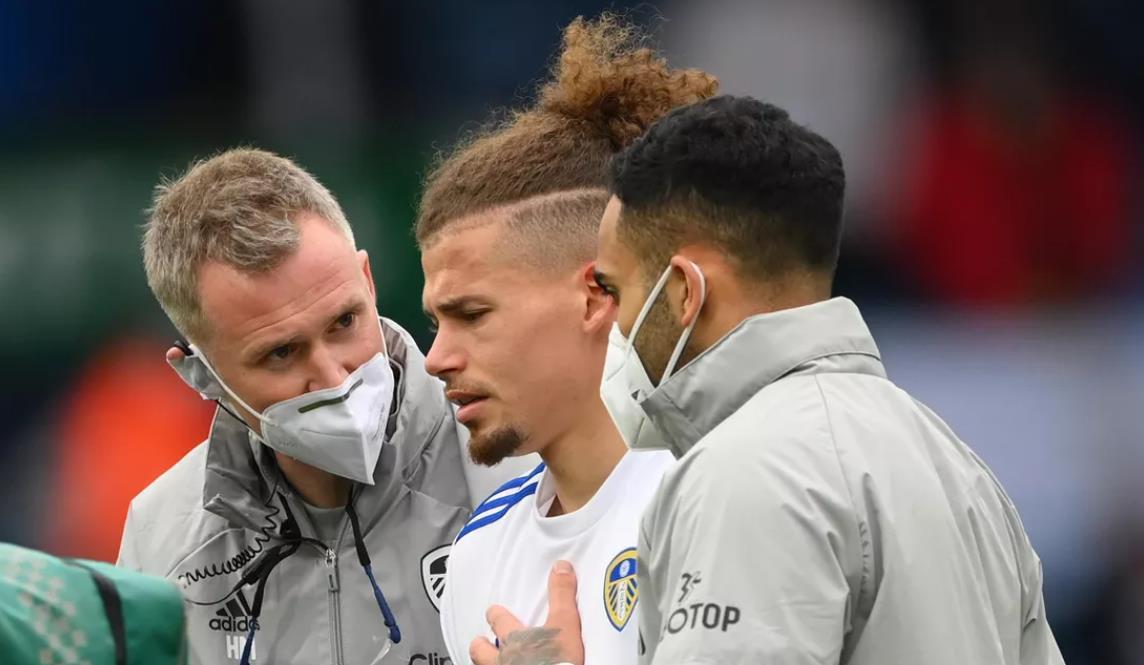 利兹联对英格兰中场充满信心,尽管有肩伤但他会参加2020年欧洲杯上亮相