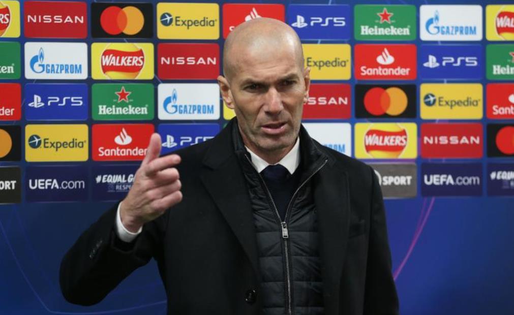 齐达内告诉皇家,他将辞去教练职位