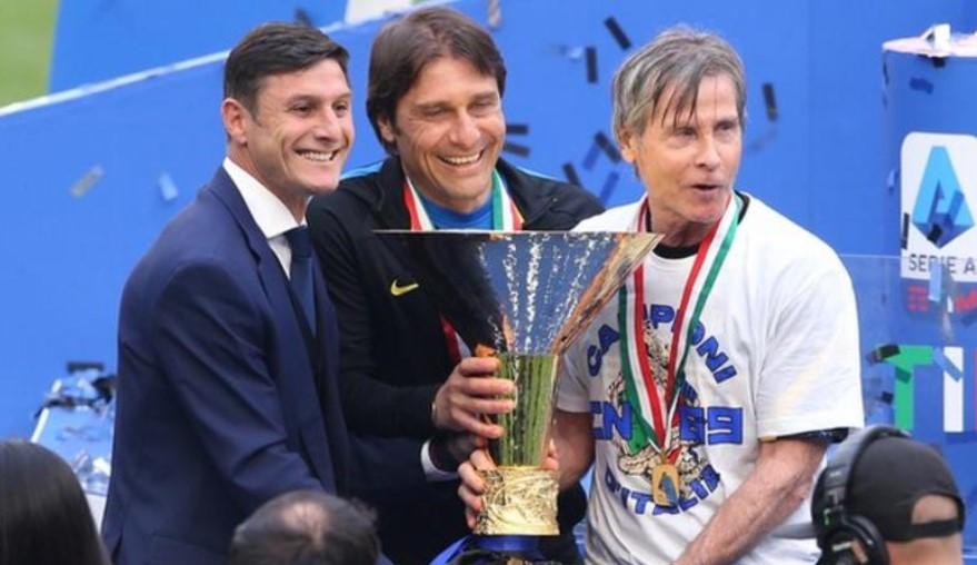 国际米兰与带领俱乐部获得冠军的经理分道扬镳