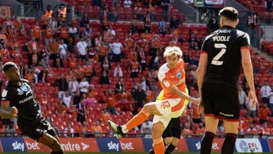 布莱克浦重返英格兰冠军联赛