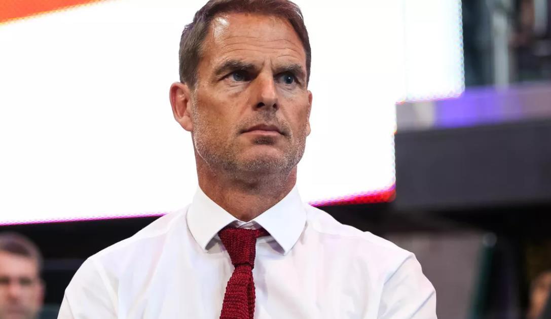 荷兰教练弗兰克~德波尔期待将新闻发布会引发争议